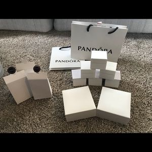 Pandora Jewelry - Lot of Pandora Boxes